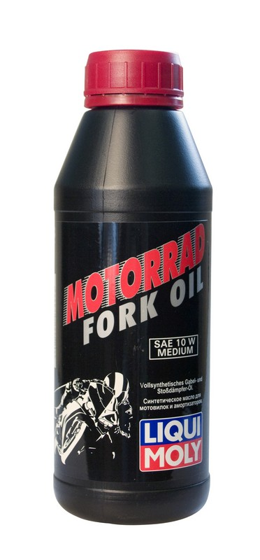Купить Масло Liqui Moly Mottorad Fork Oil Medium 0, 5 л