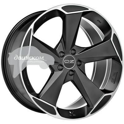 Купить Литые диски OZ 9x21/5x108 ET45 D75 Aspen HLT Matt Black + Diamond Cut